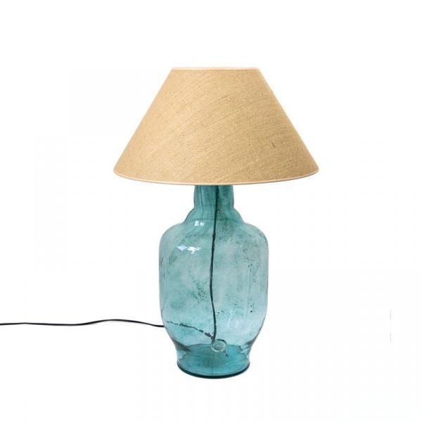 Lampa stołowa Gie El turkusowy LGH0181