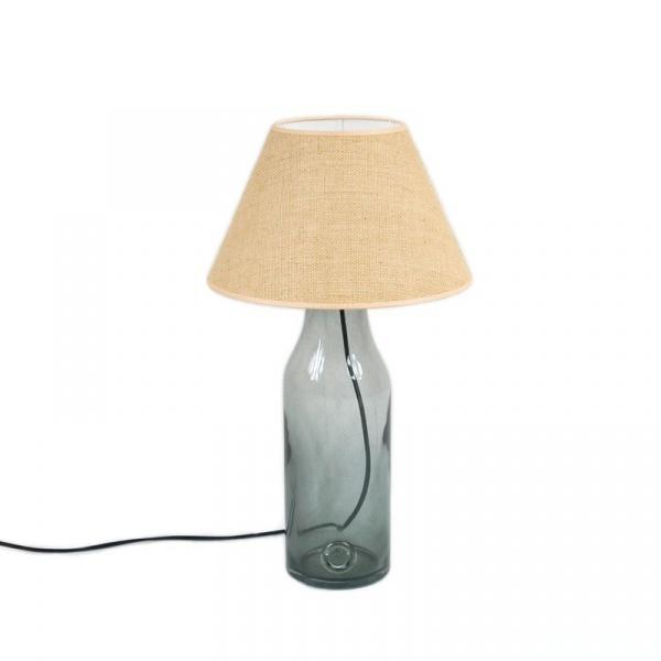 Lampa stołowa mała Gie El szary LGH0190