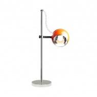 Lampa stołowa Moon Kokoon Design pomarańczowy