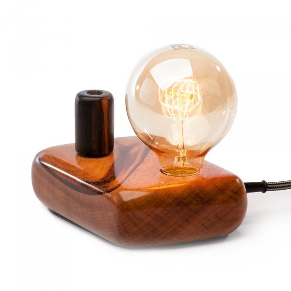 Lampa stołowa ręcznie robiona Kerid Custom Woods CL-003