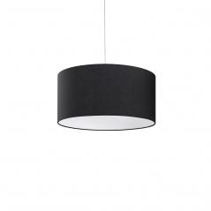 Lampa sufitowa wisząca - żyrandol czarna - oświetlenie - Gemelli