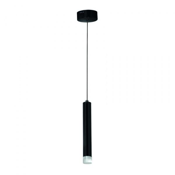 Lampa wisząca 100x10cm Milagro Carbon czarna 5902693731825