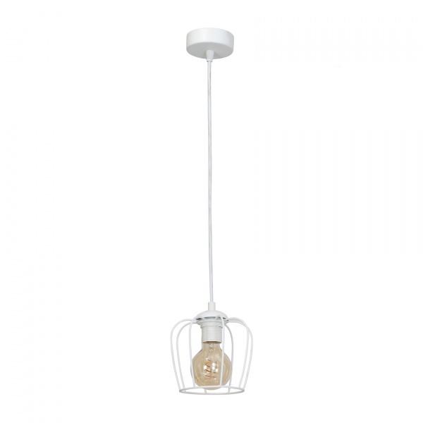 Lampa wisząca 100x18cm Milagro Vintage biała 5902693731184