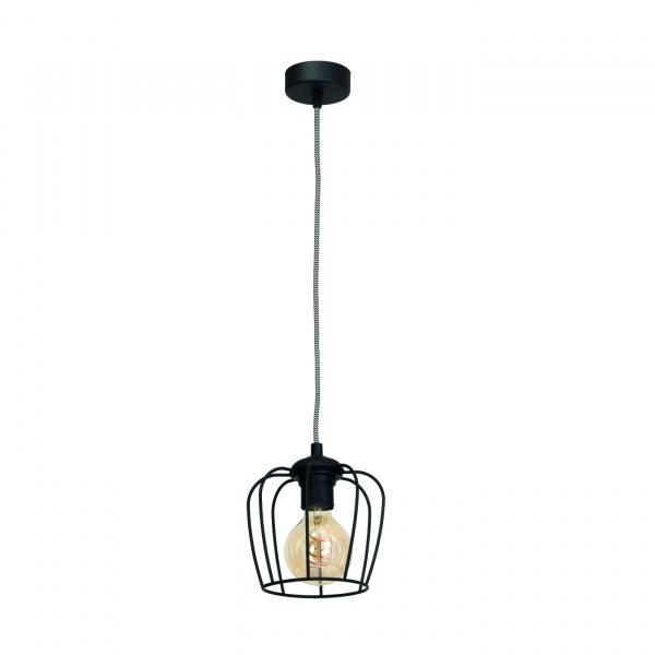 Lampa wisząca 100x18cm Milagro Vintage czarna 5902693731207