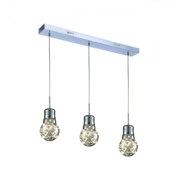 Lampa wisząca 100x58cm Milagro Bulb chrom 5902693731368