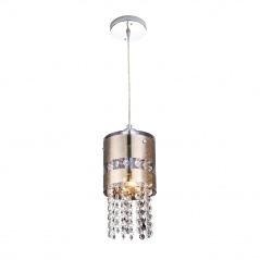 Lampa wisząca 110x16cm Lampex Bona 1 platynowa