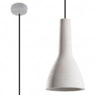 Lampa wisząca 17x17xmax.100cm Sollux Lighting Empoli biała