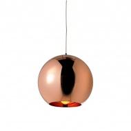 Lampa wisząca 20cm King Home Bolla miedziana