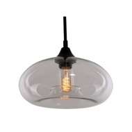 Lampa wisząca 28x28cm Altavola Design London Loft 3 transparentna