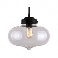 Lampa wisząca 28x28cm Altavola Design London Loft 1 transparentna