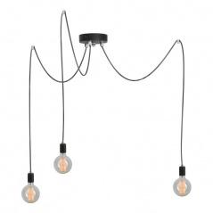 Lampa wisząca 30-250x30-250cm Lampex Ragno 3 czarna