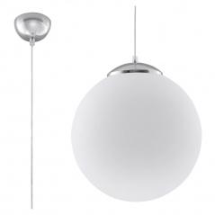 Lampa wisząca 40cm Sollux Lighting Ugo biała