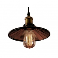 Lampa wisząca 45x45cm Altavola Design Eindhoven Loft 3 czarna