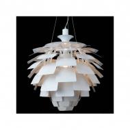 Lampa wisząca 48cm Step into design Archi biała