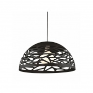 Lampa wisząca 50x50cm Altavola Design Shadows 2 czarna