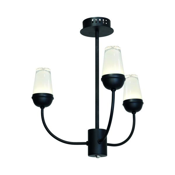Lampa wisząca 50x52cm Milagro Luton czarna 5902693731979