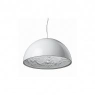 Lampa wisząca 60cm Step into design Frozen Garden biała błyszcząca