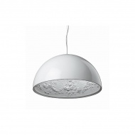 Lampa wisząca 60cm Step into design Frozen Garden biała matowa