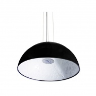 Lampa wisząca 60cm Step into design Frozen Garden czarna matowa