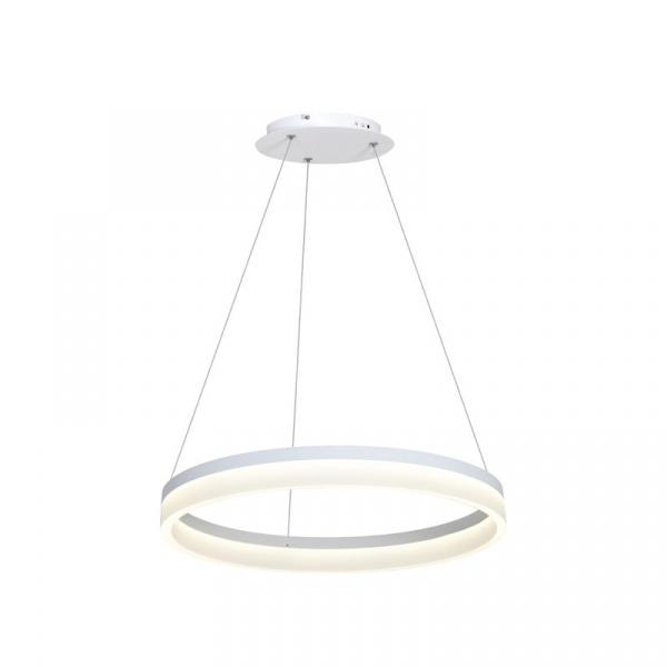 Lampa wisząca 60x100cm Milagro Ring biała 5902693700661