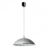 Lampa wisząca Alice D Lampex szaro-srebrna