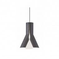 Lampa wisząca Altavola Design Origami Design 1 czarno-biała
