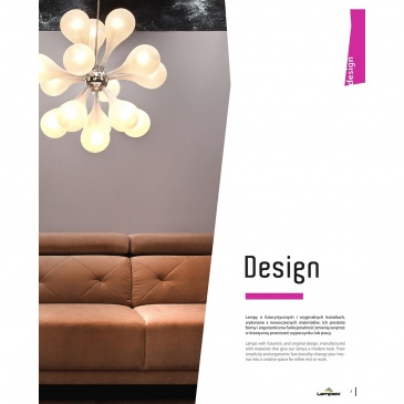 Lampa wisząca Avia 15