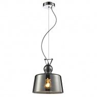 Lampa wisząca Bolla D lampex szara