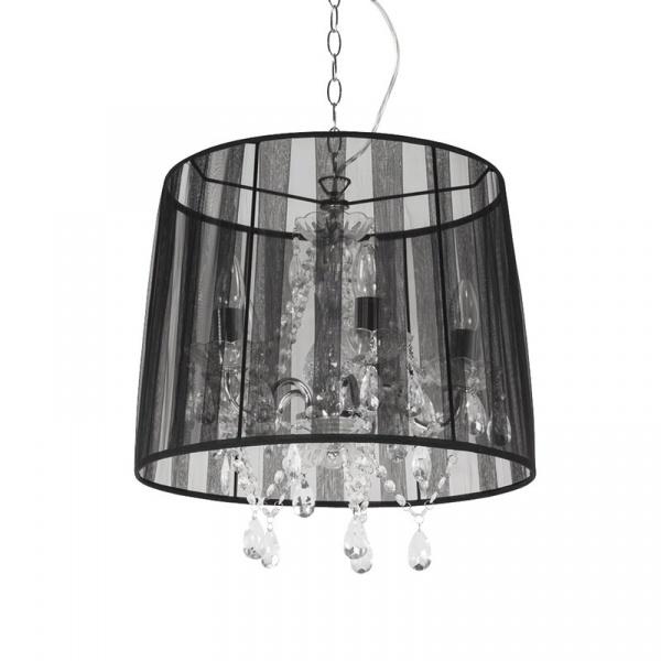 Lampa wisząca Conrad Kokoon Design czarny HL00110BL