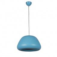 Lampa wisząca Delta 1 Lampex niebieska