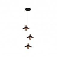 Lampa wisząca Eindhoven Loft 13x39 cm ALTAVOLA DESIGN brązowa