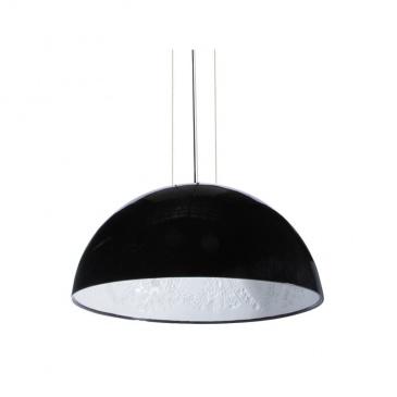 Lampa wisząca Step into design Frozen Garden czarna błyszcząca