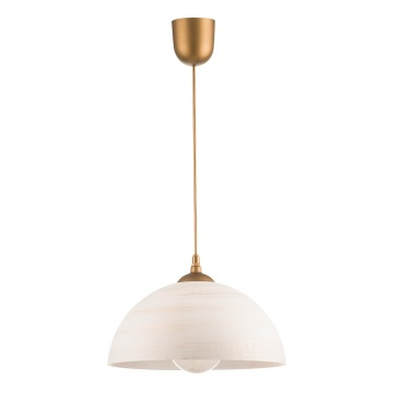 Lampa wisząca G (gold) Lampex 588/G