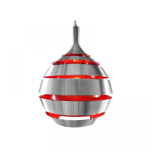 Lampa wisząca Halley Kokoon Design czerwony HL00040RE