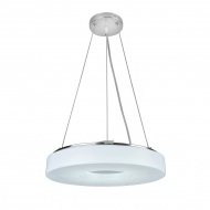 Lampa wisząca Kenzo Lampex 35cm biała
