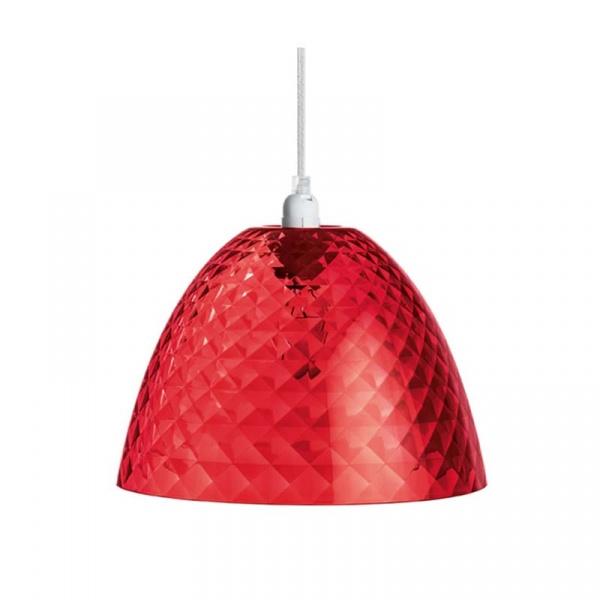 Lampa wisząca Koziol Stella czerwona S KZ-1943536