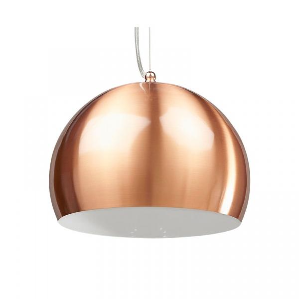 Lampa wisząca Kupol Kokoon Design miedź HL00340COWH