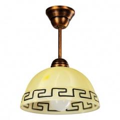 Lampa wisząca Lampex beżowa