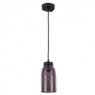 Lampa wisząca LightPrestige Vasto fioletowa