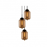 Lampa wisząca London Loft 2 CO Altavola Design bursztyn
