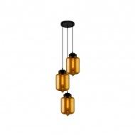 Lampa wisząca London Loft 2 CO Altavola Design bursztyn2