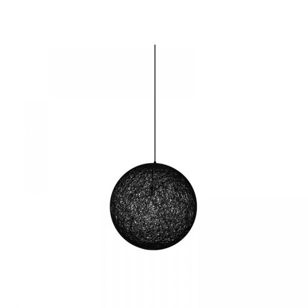 Lampa wisząca Luna Up King Home 40cm czarna XCP1147-40.BLACK