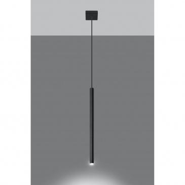 Lampa Wisząca PASTELO 1 Czarna