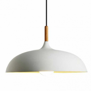 Lampa wisząca SAUCER biała 45 cm