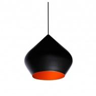 Lampa wisząca śr.52cm King Home Bet Shade Stout czarna