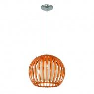 Lampa wisząca Wenus Lampex pomarańczowa