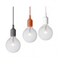 Lampa wisząca Wire biała