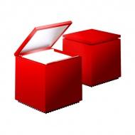 Lampka Cuboluce czerwona