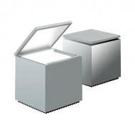 Lampka Cuboluce srebrna