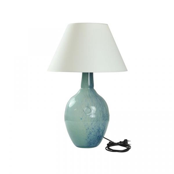 Lampka stołowa Gie El Botanica niebieski LGH0073